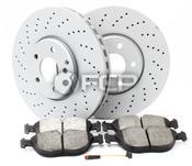 Mercedes Brake Kit - Zimmermann 516469
