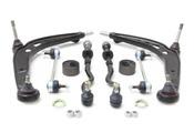 BMW 8-Piece Control Arm Kit - OE Supplier 31122227249KT