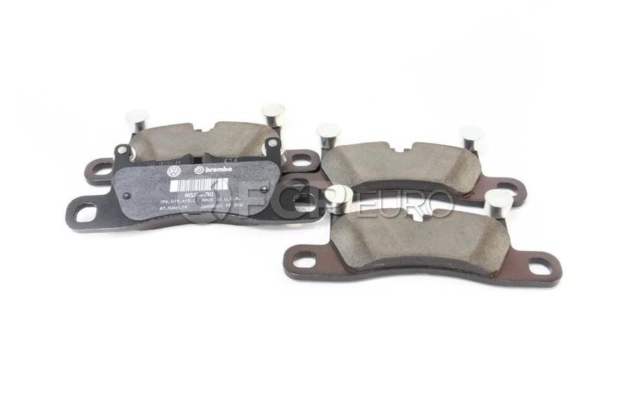 VW Brake Pad Set - Genuine VW Audi 7P6698451C