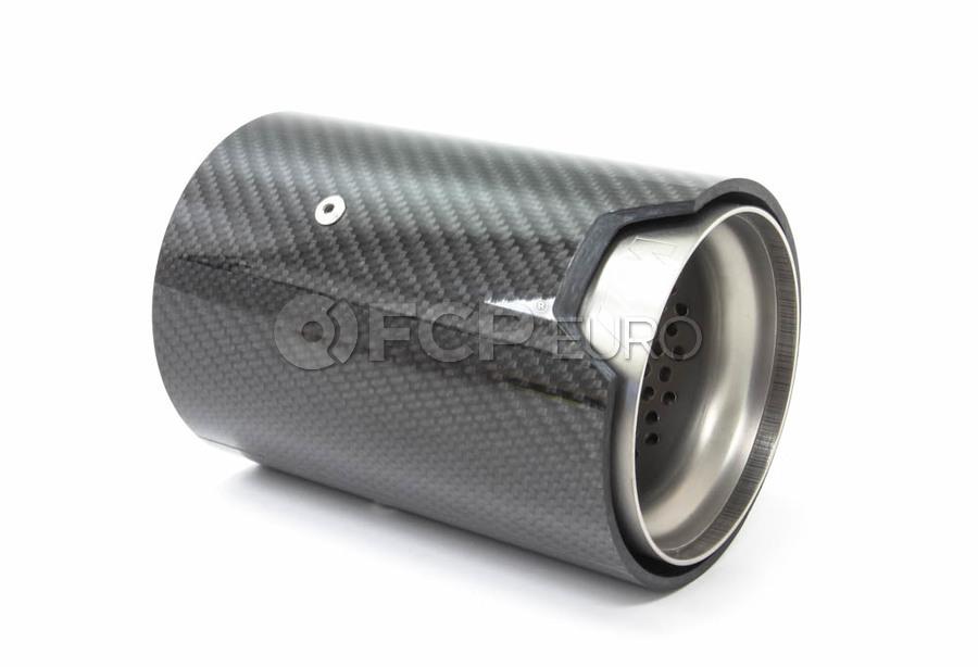 BMW Tailpipe Trim Carbon (M Performance) - Genuine BMW 18302358110
