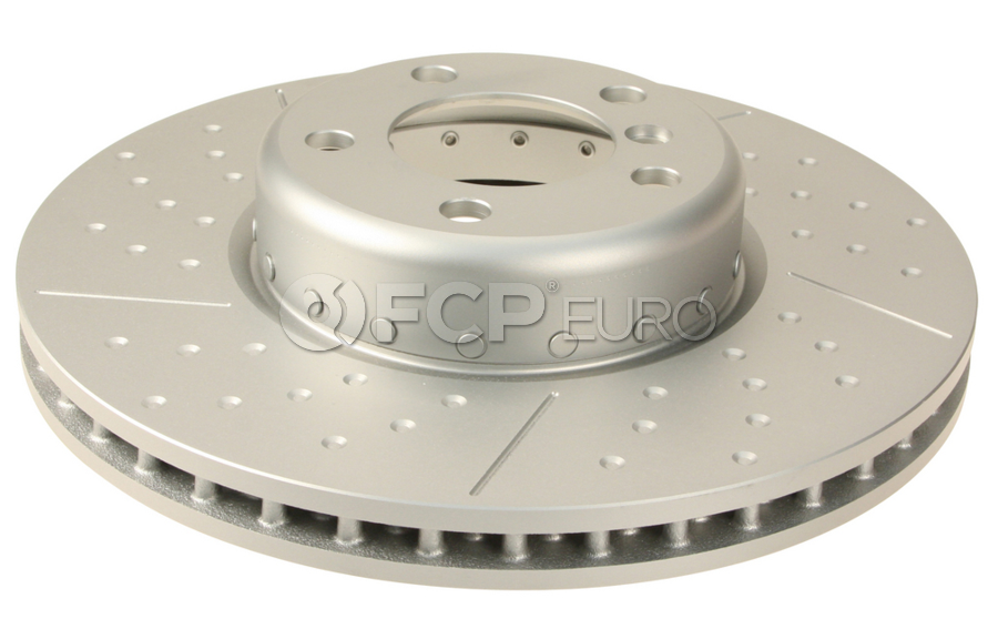 BMW Slotted Brake Disc - Genuine BMW 34106797602