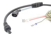 Audi ABS Wheel Speed Sensor Wire Harness Rear Right - Genuine VW Audi 8K0972254