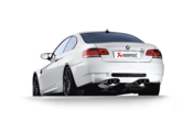 BMW Evolution Titanium Performance Exhaust System With Carbon Tips - Akrapovic ME-BM/T/2-C
