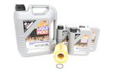 Volvo Oil Change Kit 5W-30 - Liqui Moly KIT-521977