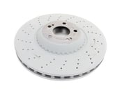 Mercedes Brake Disc - Genuine Mercedes 2224200272