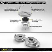 Audi VW Camber Plate Set - 034Motorsport 0346011013