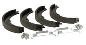 Mercedes Parking Brake Shoe Set - Textar 9064200320