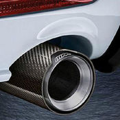 BMW M-Performance Exhaust Tip (Carbon Fiber) - Genuine BMW 18302355889