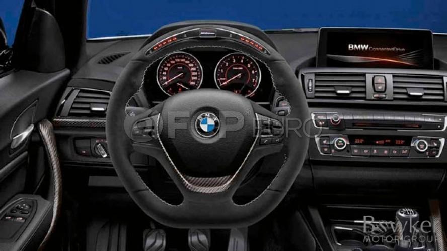 BMW M-Performance Alcantara Steering Wheel (Electronic) - Genuine BMW 32302230187