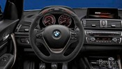 BMW M-Performance Alcantara Steering Wheel (Electronic) - Genuine BMW 32302230187