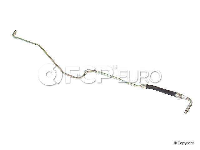 BMW Automatic Transmission Oil Cooler Hose - Genuine BMW 17221433003