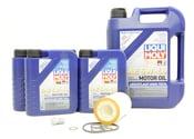 Mercedes Oil Change Kit 5W-40 - Liqui Moly 0001802609.9L