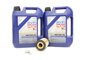 Mercedes Oil Change Kit 5W-40 - Liqui Moly 0001803009.10L