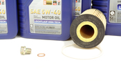 Mercedes Oil Change Kit 5W-40 - Liqui Moly 0001803009.9L