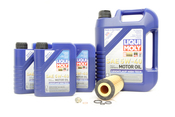 Mercedes Oil Change Kit 5W-40 - Liqui Moly 2751800009.8L