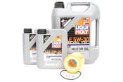 BMW 5W30 Oil Change Kit - Liqui Moly 11427854445KT7