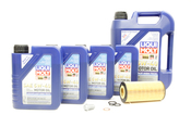 Mercedes Oil Change Kit 5W-40 - Liqui Moly 2751800009.9L