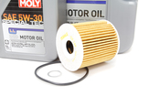 Volvo Oil Change Kit 5W-30 - Liqui Moly KIT-521981