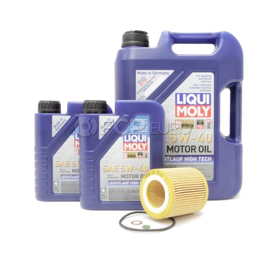 BMW 5W40 Oil Change Kit - 11427953129KT4