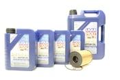 BMW 5W40 Oil Change Kit - Liqui Moly 11427848321KT2
