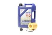 BMW 5W40 Oil Change Kit - Liqui Moly 11427640862KT1.LM