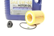 BMW 5W40 Oil Change Kit - Liqui Moly 11427953125KT2