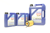 BMW Oil Change Kit 5W-40 - Liqui Moly 11427511161KT2.LM