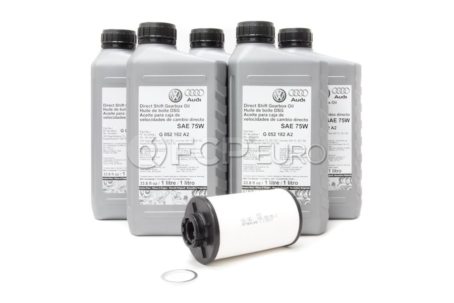 Audi VW DSG Transmission Service Kit - Genuine VW Audi 02E305051CKIT3