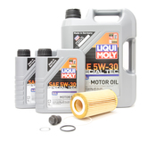 Volvo Oil Change Kit 5W-30 - Liqui Moly KIT-538540