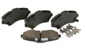 VW Brake Pad Set - Akebono 7B0698151F