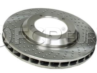 Porsche Brake Disc - Zimmermann 460150720