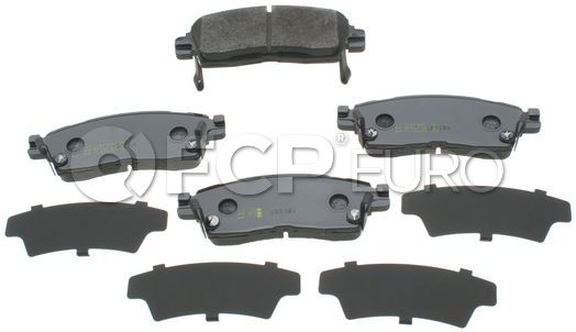 Saab Brake Pad Set - Akebono ACT883