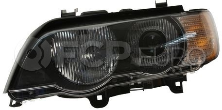 BMW Xenon Headlight Assembly - Hella 63126930239