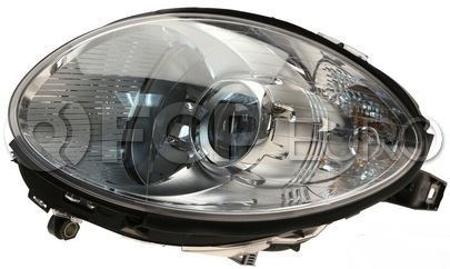 Mercedes Headlight Assembly - Hella 2518200461