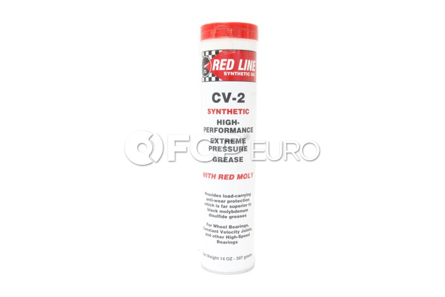 CV-2 Grease with Moly (14oz) - Red Line 80402