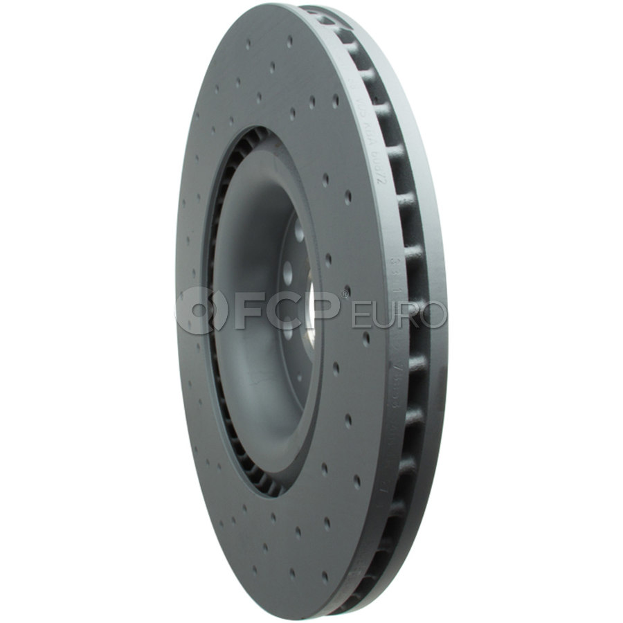 VW Brake Disc - Zimmermann 1K0615301M