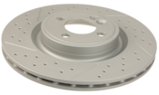 Mini Brake Disc - Zimmermann 34116855782