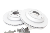 Audi VW Brake Kit - Zimmermann KIT-TOUAREARBK1