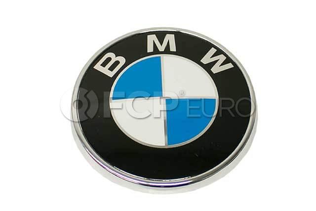 BMW Plaque (D=70 mm) - Genuine BMW 51147166445