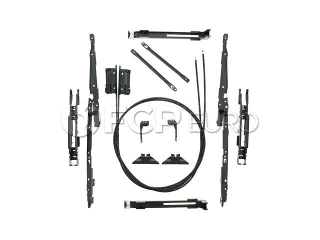 BMW Sunroof Cable Repair Kit - Genuine BMW 54137118849