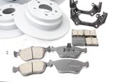 Volvo Big Brake Upgrade Kit 302MM - Zimmermann KIT-509417