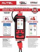 MAXIDIAG MD808 Professional OBDII Scanner - Autel MD808P