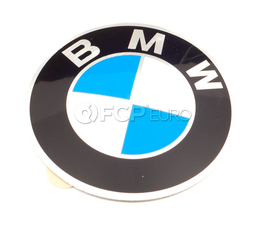 BMW Wheel Center Cap Emblem - Genuine BMW 36131181080