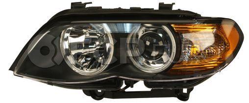 BMW Headlight Assembly Left (X5) - Hella 63127164443