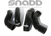 Volvo Intercooler Hose Kit Black - Snabb SHK-002