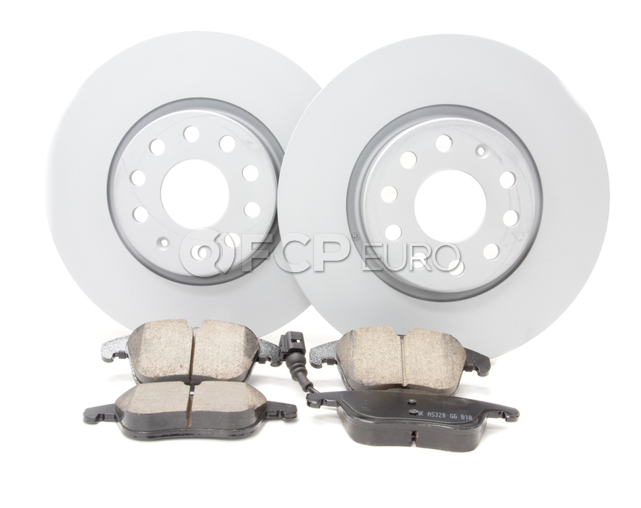 Audi VW Brake Kit - Zimmermann KIT-512101