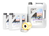 Volvo Oil Change Kit 0W-30 - Liqui Moly KIT-521978