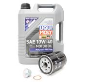 Porsche Oil Change Kit 10W-40 - Liqui Moly  KIT-524664
