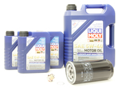 Porsche Oil Change Kit 5W-40 - Liqui Moly KIT-525121