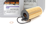 BMW 5W30 Oil Change Kit - Liqui Moly 11428575211KT1